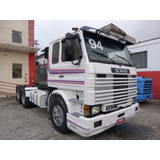 Scania R 143 6x2 1994 Frontal Trucado 143 Scania 113 6x2 360
