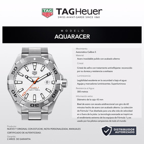 Pulso Tag Way2013.ba0927 Aquaracer Calibre 5 43mm 300m