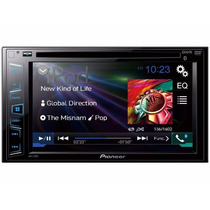 Dvd Player Pioneer Avh-288bt 2 Din 6,2´ Usb Bluetooth Iphone