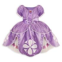 Disfraz Para Niña Disney Sofía El Traje De Vestido De Prime