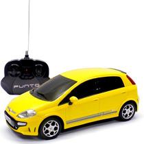Fiat Punto T Jet Controle Remoto 1:18 Cks Amarelo