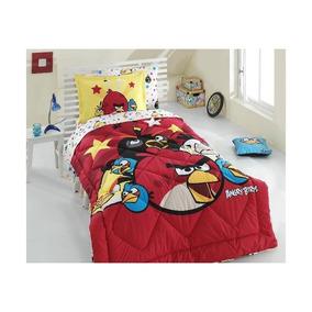 Jogo De Cama (sono) Angry Birds 001 (jogo De Sono) Licenciad