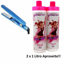 Chapinha Fast Liss Nano Titanium + Prog. Maria Glamurosa