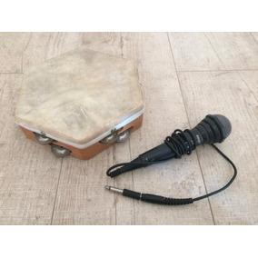 Lindo Pandere Huaso + Micrófono Philips