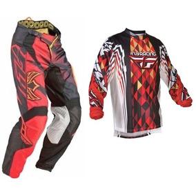 Equipo Traje Fly Motocross S-30 Cuatrimoto Enduroatv Rzr Atv