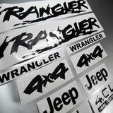 Calcomanias Jeep Kit Wrangler Completo Original