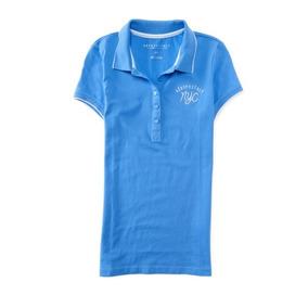 Camisa Tipo Polo Marca Aeropostale Para Dama, 100% Original