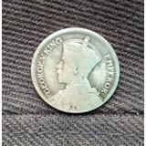 Antigua Moneda De Plata De 6 Peniques (1933), Nueva Zelanda