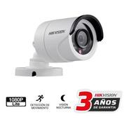 Cámara Bullet Hikvision 1080p Full Hd Lente 2,8mm Exterior