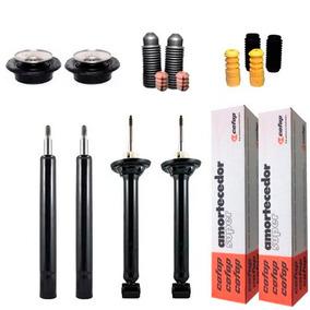 Kit 4 Amortecedor Gol G3 E G4 + Kit + Coxim Axios