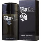 Perfume Black Xs 100 Ml Original Hombre En Caja