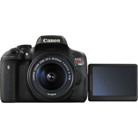 Câmera Digital Canon Eos Rebel T6i Kit 18-55mm