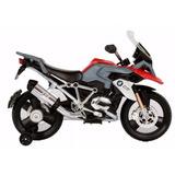 Moto Bebesit Bmw Roja Con Gris 1256a Batería El Cerro