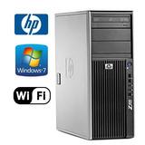 Estación De Trabajo Hp Z400 - Intel Quad Xeon 2.40ghz - 8gb