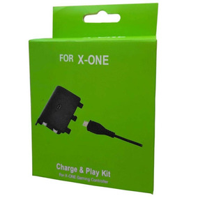 Kit Play E Charge Para Controles Do Xbox One - Similar
