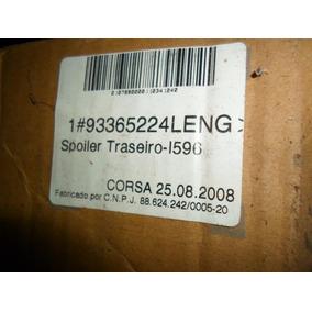 Spoiler Traseiro Corsa/meriva/montana 02/12 Gm 93365224