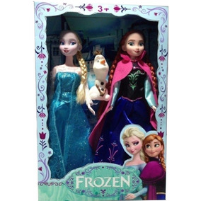 2 Bonecas Do Filme Frozen Disney Anna Elsa E Olaf Musical