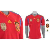 Camisa Espanha Oficial adidas Seleção 11/12 S/n