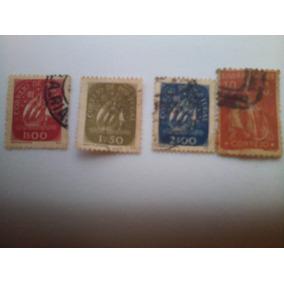 Selos Raros De Portugal, 1942 A 1948, Os 4 Por 3.600,00