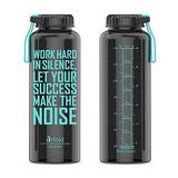 Artoid Mode 48oz Motivational Fitness Workout Sports Botella