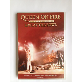 Box 4 Discos Queen On Fire - Live At The Bowl (frete Grátis)