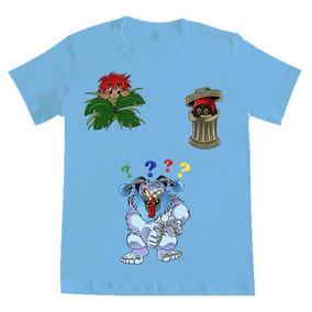 Camiseta Menino Curupira 100% Algodão Orgânico E Malha Pet 2549117d0c5b8