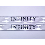 Baquetas De Acrílico Colores Blanco Y Rosa Infinity Ads1