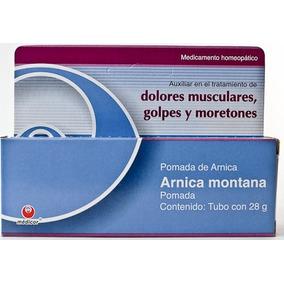 Pomada Arnica Montana 28 G Medicor Dolores Musculares, Golpe