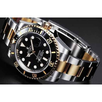 Relógio Rol Submariner Misto 65 Preto Automático Qualidade