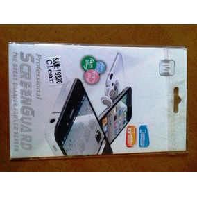 Protectores Pantalla Celular, Iphone, Ipod, Tablet