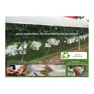 Sacos Agro Tnt C/ Elástico18x22cm Proteção Frutas 200un