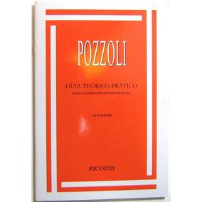 Método De Ensino Pozzoli 1 E 2 Guia Ditado Musical - Dinhos