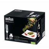 Minipimer Braun Multiquick 5 Mq 520 Pasta (metalica)