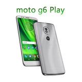 Smartphone Motorola Moto G G6 Play 32gb 4g 13mp 5.7 - Prata