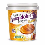 Pasta Integral De Amendoim Sem Acucar - Pote De 450g