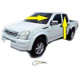 Deflector Cromado Ventana Chevrolet Luv D-max 2005 Al 2014