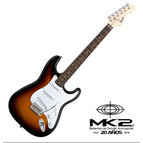 Guitarra Eléctrica Squier Stratocaster Bullet Tremolo Brown
