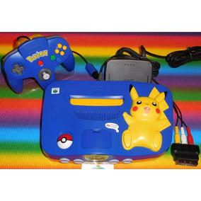 Nintendo 64 Edição Pikachu (pal)