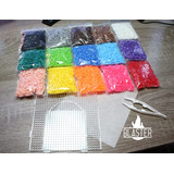 Super Pack - 7500 Hama/perler/artkal Beads 5mm + Accesorios