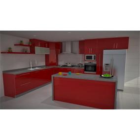 Diseño De Cocinas 3d Y Render Pachuca, Cdmx, Tecamac