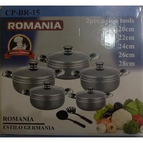 Juego De Ollas Romania Cp-br 15