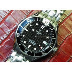 Reloj Alpha Seamaster Negro Automatico