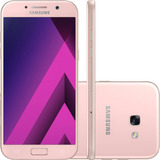 Celular Samsung Galaxy A5 2017 Rosa - 4g, Dual Chip, Tela 5.