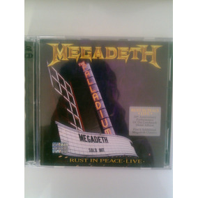 Megadeth - Rust In Peace - Live 1dvd Y 1cd