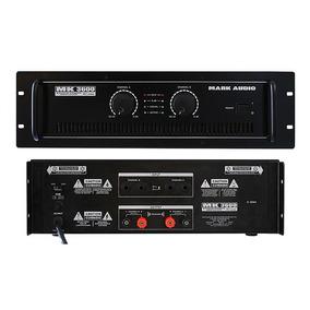 Amplificador Potência Mark Audio Mk3600 600w Oferta Kadu Som