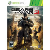 Gears Of War 3 Xbox 360 Epic Games Original Sellado