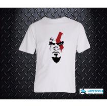 Remeras Sublimada Kratos Gamer Diseños Exclusivos