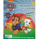 Mi Mundo De Diversion Paw Patrol Libro Para Niños