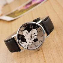 Relógio De Pulso Adolescente Criança Quartzo Mickey Mouse