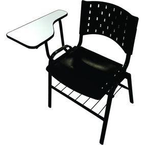 Cadeira Universitaria Fixa 4pés Pvc Polipropileno Abbamoveis